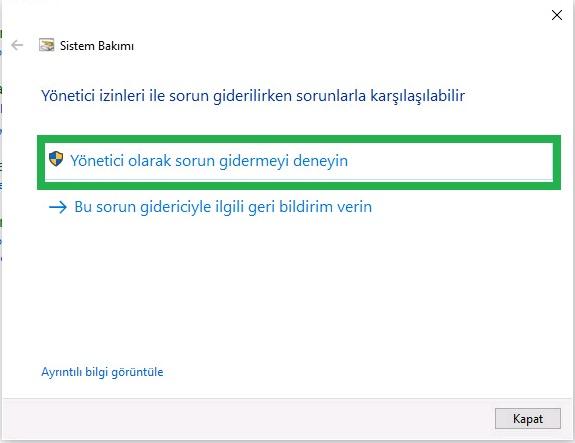 windows-10-hizlandirma-programsiz