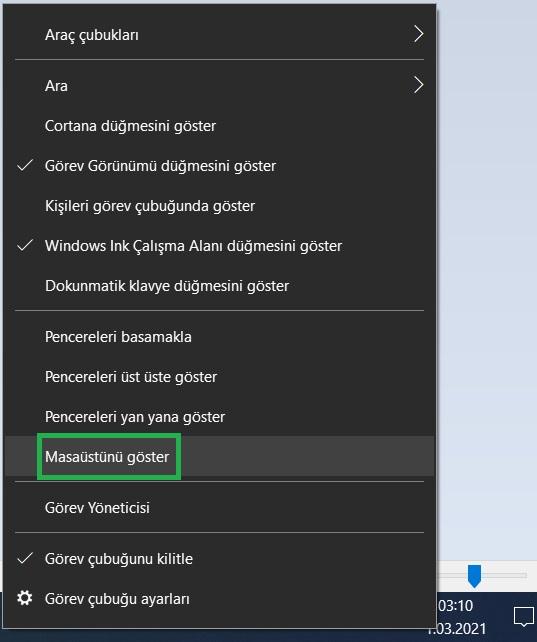 windows-10-masaustunu-goster-kullanma-yolları