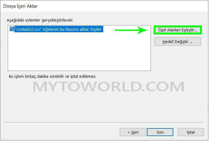 Gmail ile Outlook Arasında Kişileri Alma ve Verme