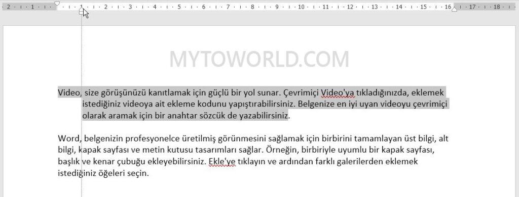microsoft-wordde-cetvel-kullanimi