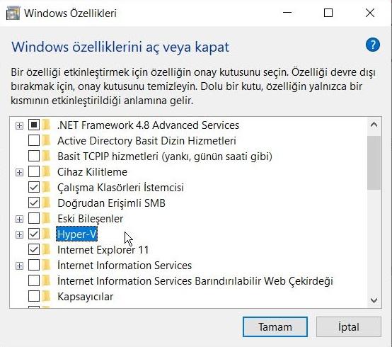 windows-10da-sanal-makine-olusturma